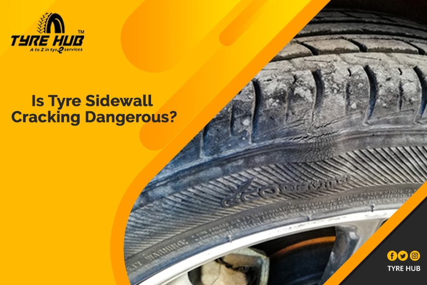 Acknowledge the Tyre Sidewall Cracking…It could be fatal